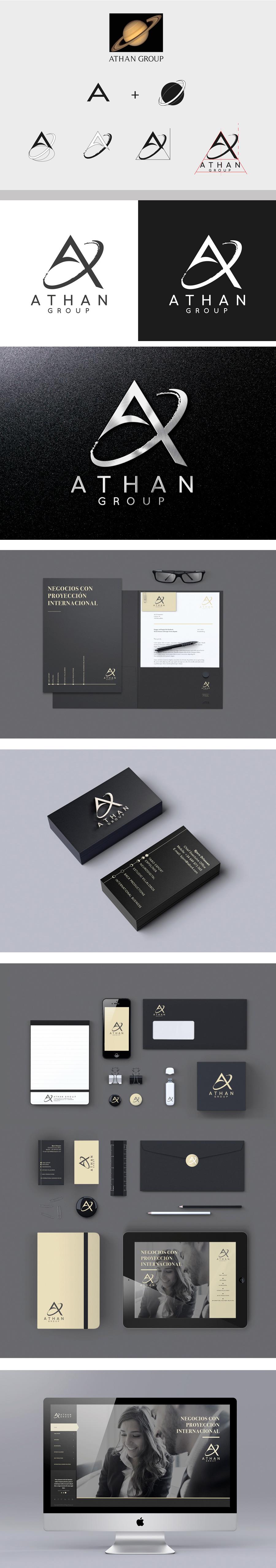 Eugenia Parra Diseño Creación de Marca, Athan Group